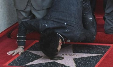 Холивуд почете мистериозен магьосник (ВИДЕО+СНИМКИ)