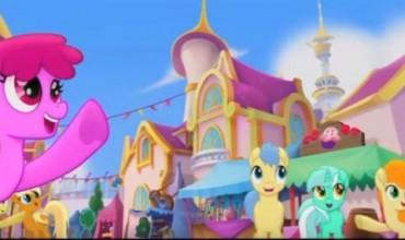 """Първи трейлър на """"Моето малко пони"""""""