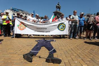 По-високи заплати за полицаите тази година няма да има въпреки протеста