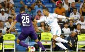 Наказаният Роналдо вдигна нов трофей, бивш славист само докосна звездата