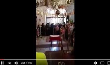"""Бигорските монаси пеят """"Изгрей зора на свободата""""(ВИДЕО)"""