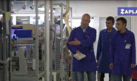 Модерен завод открива нови работни места (ВИДЕО)