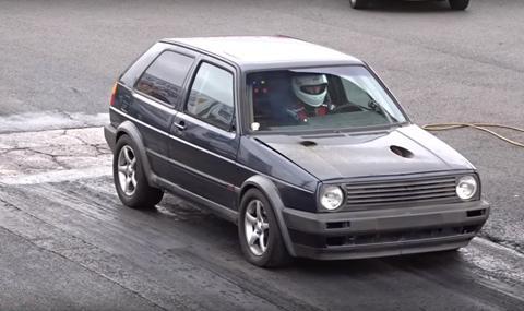 Най-бързият VW Golf в света?