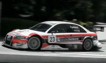 Едно лудо испанско Audi A4 V8 DTM