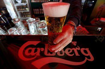 Carlsberg с ръст на печалбата и спад на производството