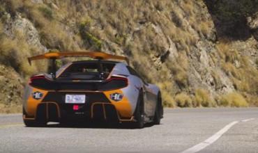 McLaren с 1200 коня – пълна психария