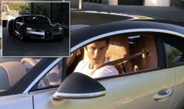 Роналдо се изфука с новия си Chiron