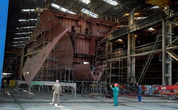 Продава се корабостроителницата в Русе. Цена: 32 млн. лв.