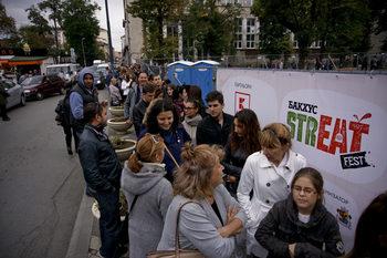 Фотогалерия: Наслада за небцето на открито или как протече първият StrEAT Fest в София