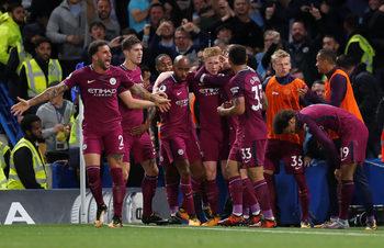 """""""Манчестър сити"""" пожали """"Челси"""" и победи само с 1:0 на """"Стамфорд бридж"""""""