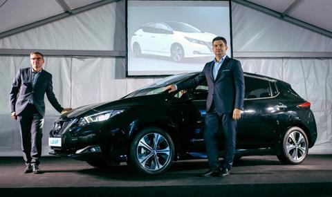 Nissan LEAF пристигна в България
