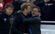 Клоп раздава прегръдки, но целувката е за Вагнер