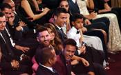 Къде отиде вотът на Роналдо и кой пропусна да сложи Меси в тройката?
