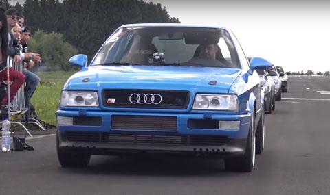 Петцилиндрова симфония – Audi S2 с 800 коня