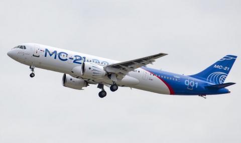 Първи дълъг полет за руски пътнически самолет