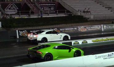 Nissan GT-R NISMO срещу Lamborghini Huracan