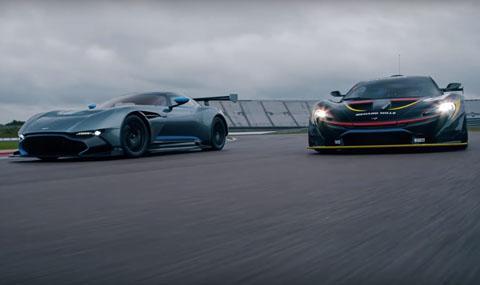Английското хипер дуо – McLaren P1 GTR и Aston Martin Vulcan