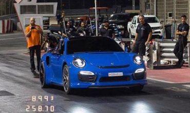 Рекордно Porsche 911 Turbo с 1200 коня