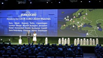 Баку се нареди сред кандидатите за мача на откриването на Евро 2020
