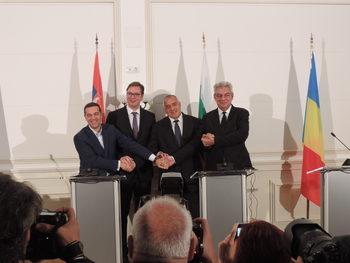 """Борисов след четиристранната среща във Варна: Не създаваме нова """"Вишеградска четворка"""""""