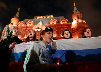 Протести и арести на рождения ден на Путин