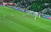 Северна Ирландия – Швейцария 0:0 /първо полувреме/
