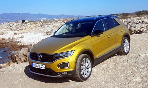 Първи тест на Volkswagen T-Roc