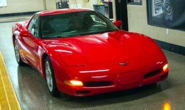 Corvette на 1.2 млн. км отива в музея
