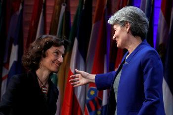 Фотогалерия: Ирина Бокова предаде ръководството на ЮНЕСКО