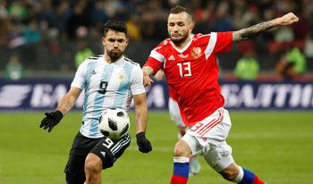 Агуеро припадна при загуба на Аржентина от Нигерия