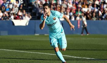 """Суарес прекъсна сушата си от пет мача без гол, а """"Барселона"""" спечели срещу """"Леганес"""""""