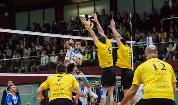 """Волейболният """"Левски"""" преодоля с лекота първото си препятствие в Европа"""