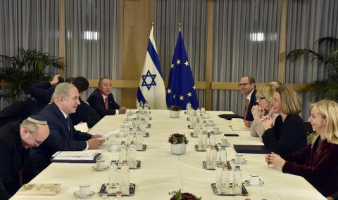 Нетаняху в Брюксел: Признаването на Ерусалим за столица е реалност