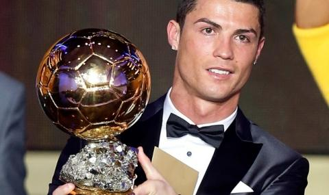"""Роналдо вдигна за пети път """"Златната топка"""""""