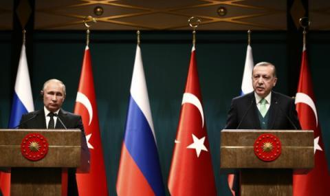 Путин и Ердоган обсъдиха Близкия Изток