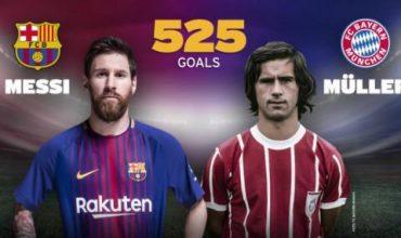 Меси се изравни с легенда на футбола