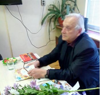 """Вълнуваща среща с Георги Константинов проведе читалище """"Съгласие 1869"""""""
