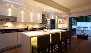 Идеи за осветителни тела в кухнята