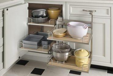 Как да използваме ъгъла в кухненското обзавеждане