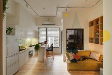 Очарователен малък апартамент в Тайван [50 м²]