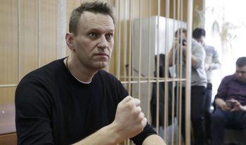 Руският опозиционен лидер Алексей Навални се кандидатира за президент