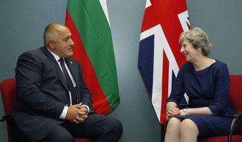 Борисов заминава на посещение в Лондон по покана на Тереза Мей