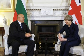 Борисов поиска от Мей Брекзит да не повлияе на правата на българите във Великобритания