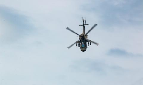"""Хеликоптер """"Апачи"""" се разби в Калифорния, пилотите загинаха"""