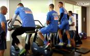 """Роси даде почивка на """"сините"""", Паулиньо и Ривалдиньо се потят във фитнеса"""