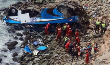 Трагедия! 48 загинаха в катастрофа
