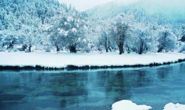 Ледено време! Студ и в Азия
