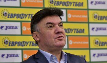 Футболният съюз обвини Любослав Пенев в предизборни лъжи