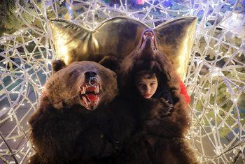 """Фотогалерия: """"Танцуващите мечки"""" на Румъния"""