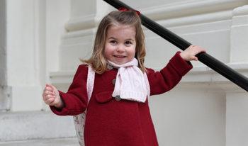 Снимка на деня: И принцесата тръгна на детска ясла